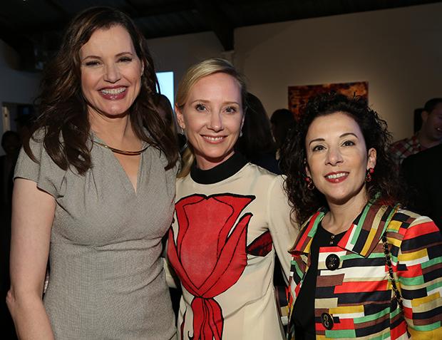 Geena Davis, Anne Heche and Madeline Di Nonno