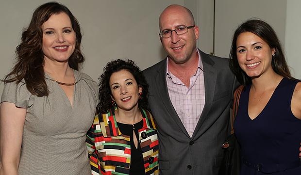 Geena Davis, Madeline Di Nonno, Brad Packer and Kim Murray