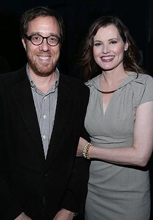 Rob Minkoff and Geena Davis