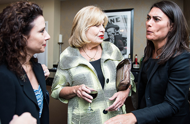 Madeline Di Nonno, Chief Executive Officer of the Geena Davis Institute on Gender in Media, Pat Harrison,  President and CEO, CPB and Tamara Gould, Vice President of ITVS International