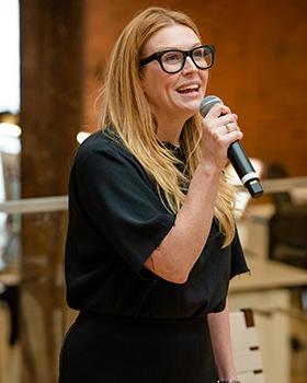 Justine Armour, Salon Moderator, Executive Creative Director, 72 and Sunny