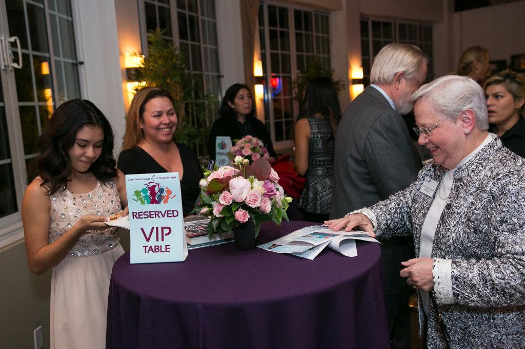 Jailene Arias & Yolanda Bernal (KIDS FIRST!), Kathleen Doty (AAUW CA)