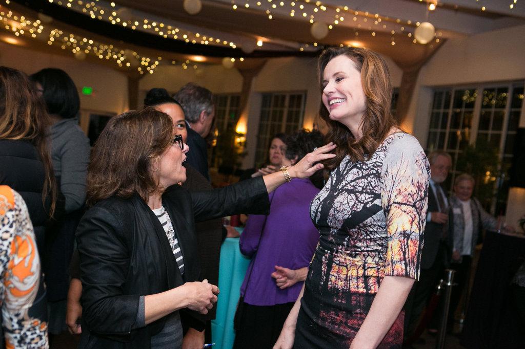 Madeline Di Nonno, Nina Tassler (CBS), Geena Davis