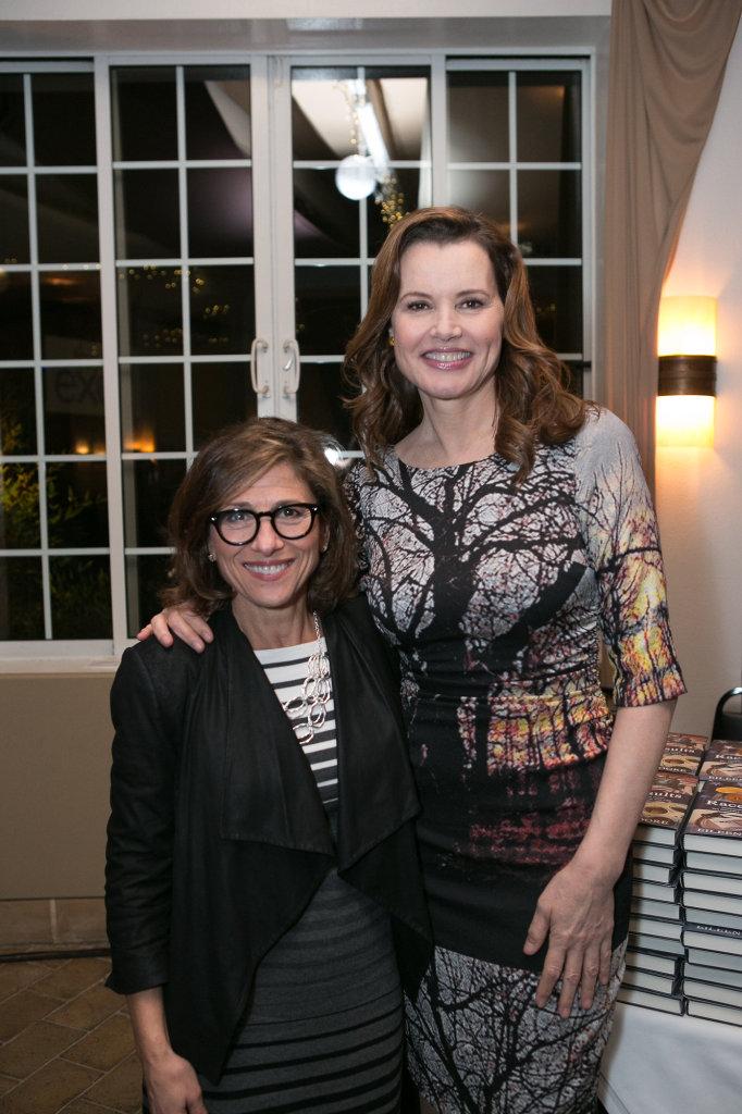 Nina Tassler (CBS) & Geena Davis