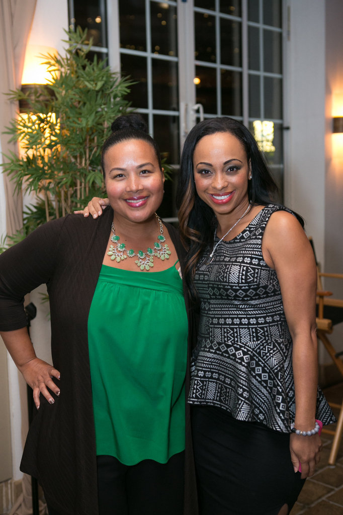 Tiffany Smith-Anoa'i (CBS) & Caryn Ward (actress)