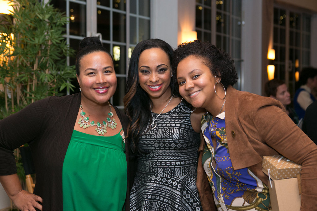 Tiffany Smith-Anoa'i (CBS) & Caryn Ward (actress) & Whitney Davis (CBS)