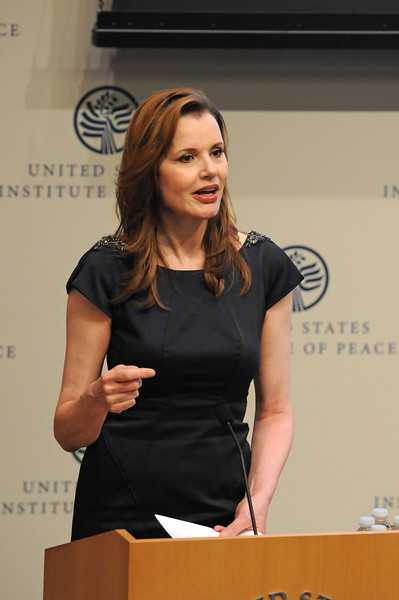 Geena Davis, Global Symposium, Washington DC