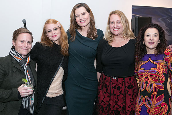 Chris Nee, Doc McStuffins; Melissa Pierce; Geena Davis, Founder; Jen Myronuk; Madeline Di Nonno, CEO of Geena Davis Institute on Gender in Media