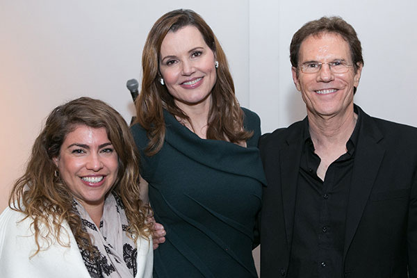 Lee Broda, Jeff Rice Films; Geena Davis, Founder; Jeff Rice,  Jeff Rice Films