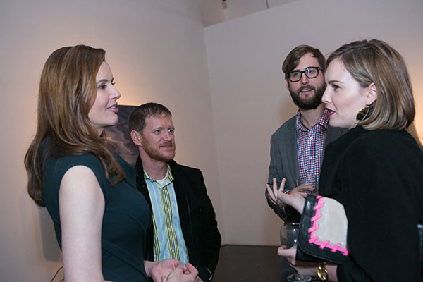 Geena Davis, Burton Ritchie, Heretic Films; Dylan Slocum; and Catherine Grieve, Monkey with a Gun Productions