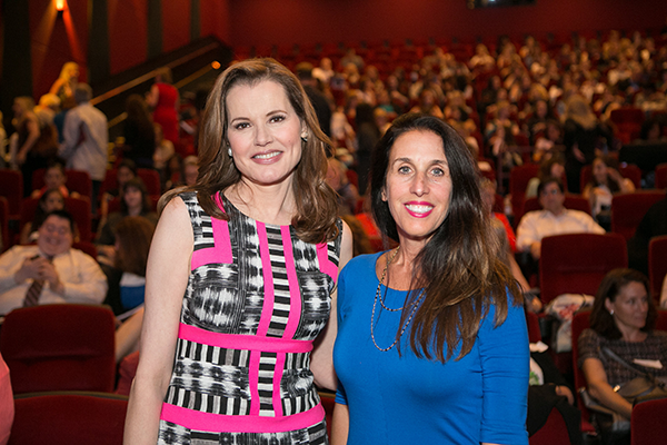 Gender on Media Global Symposium 2014, Los Angeles, Camela Galano, President, Relativity International and Geena Davis