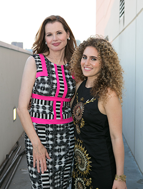 Gender on Media Global Symposium 2014, Los Angeles, Geena Davis and TamTam, Recording Artist