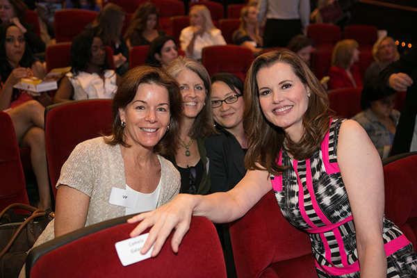 Gender on Media Global Symposium 2014, Los Angeles, Geena Davis, Betsy McKinney, Lora O'Connor and Cate Park