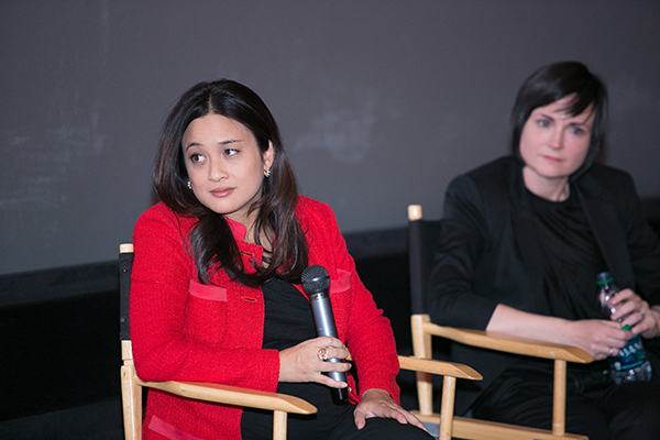 Gender on Media Global Symposium 2014, Los Angeles, Lareina Yee, Partner, McKinsey & Company, Elissa Murphy, CTO, GoDaddy