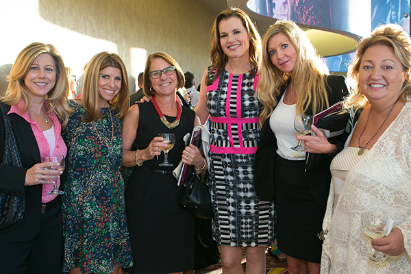 Gender on Media Global Symposium 2014, Los Angeles, Michelle Danner, Samantha Ettus, Ann McElaney-Johnson, Geena Davis and Sandy Barger