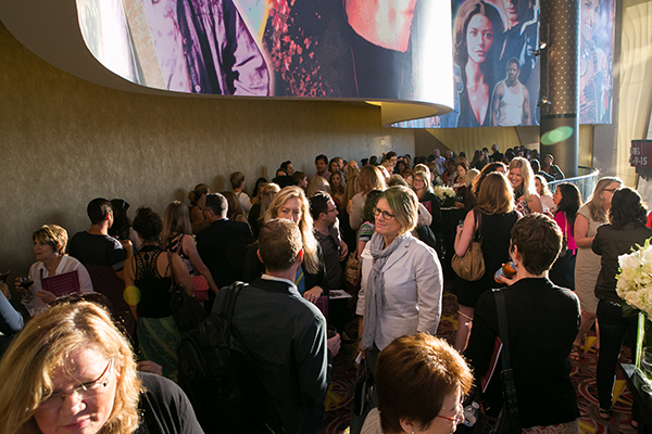 Gender on Media Global Symposium 2014, Los Angeles, Packed Reception