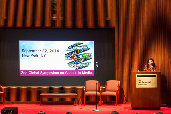 Gender on Media Global Symposium, New York City,