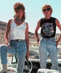 thelma and louise gender analysis Gender is thus the basis for my analysis rather than another in thelma & louise, the escape was transformed into an escape from patriarchal values and boundaries.