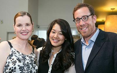 See Jane Salon - Geena Davis, Crystal Kung and Rob Minkoff