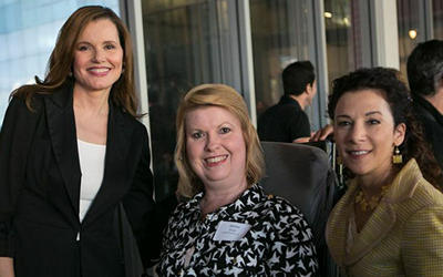 See Jane Salon - Geena Davis, Jenni Gold and Madeline Di Nonno
