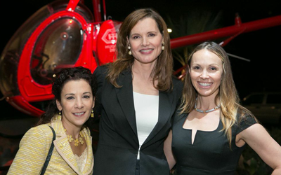 See Jane Salon - Madeline Di Nonno, Geena Davis and Christina Martin