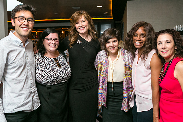 See Jane Salon - Madeline Di Nonno, Cindy Johnson, Geena Davis and Justice, Eileen Moore