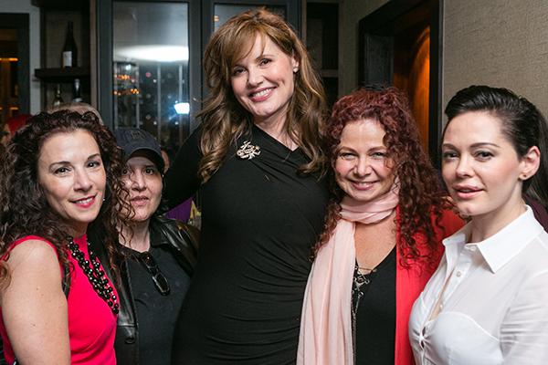 See Jane Salon - Madeline Di Nonno, CEO, Geena Davis Institute, Jana, Edgelight Productions, Geena Davis, Addie Daddio, The Daddio Collective, Rose McGowan