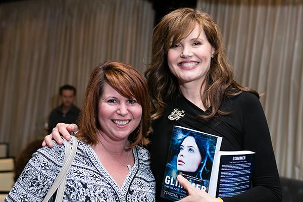 See Jane Salon - Tricia Cerrone, Author and Geena Davis